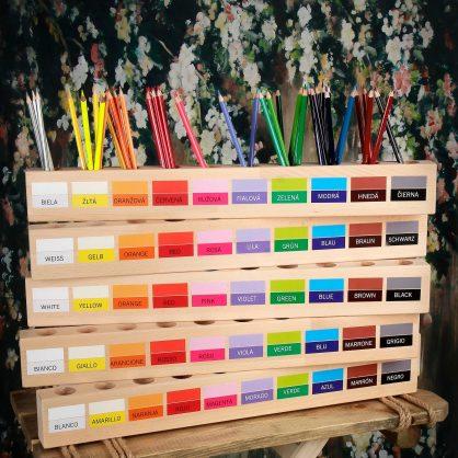 PASTELKOVNÍK VEĽKÝ - s popisom farieb